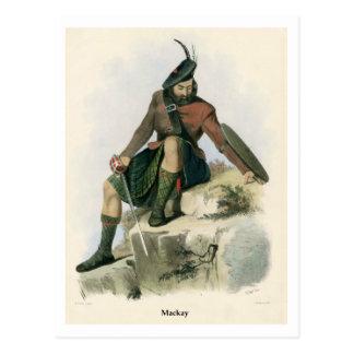 Clan Mackay Tarjetas Postales