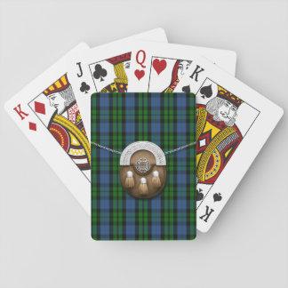 Clan MacKay Tartan And Sporran Playing Cards