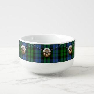 Clan MacKay Tartan And Sporran Soup Mug