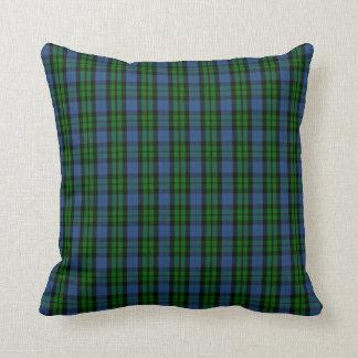 Clan MacKay Tartan Throw Pillow