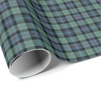 Clan Mackenzie Ancient Tartan Gift Wrapping Paper