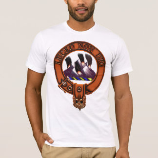 Clan MacKenzie Family Crest and Targe T-Shirt