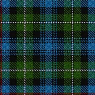 Clan MacKenzie Scottish Heritage Tartan Shower Curtain