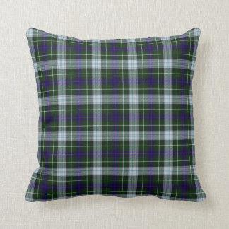 Clan Mackenzie Scottish Tartan Throw Pillow
