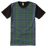 Clan MacKenzie Tartan All-Over-Print Shirt