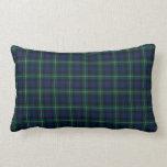 Clan Mackenzie Tartan Lumbar Cushion Throw Pillow