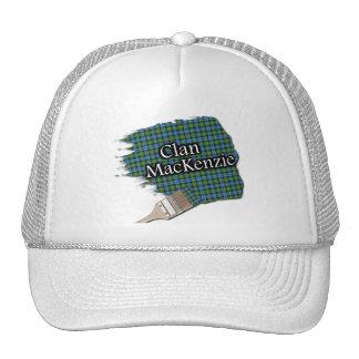 Clan MacKenzie Tartan Paint Brush Cap Trucker Hat