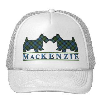 Clan MacKenzie Tartan Scottie Dogs Trucker Hat