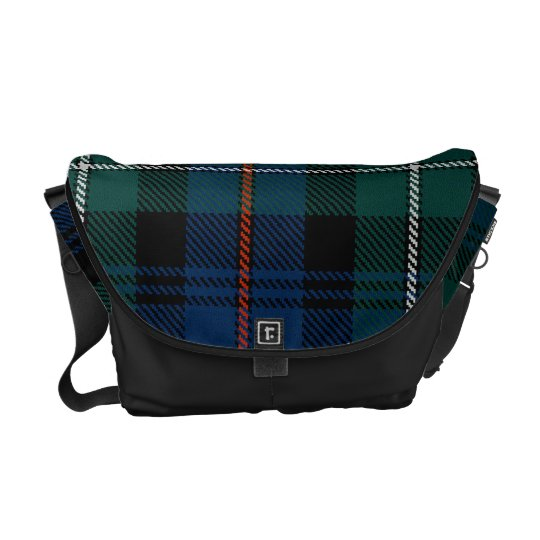 Clan MacKenzie Tartan Scottish Messenger Bag