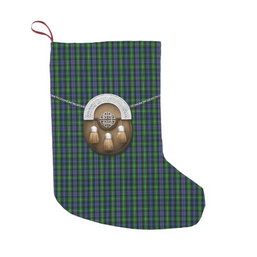 Clan MacKenzie Tartan Small Christmas Stocking