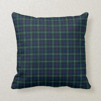 Clan  Mackenzie Tartan Throw Pillow