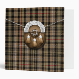Clan MacKenzie Weathered Tartan And Sporran Binder