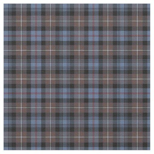 Clan Mackenzie Weathered Tartan Fabric Zazzle