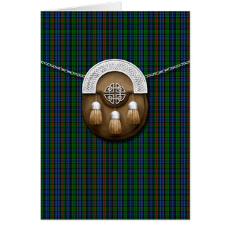 Clan MacKinlay Tartan And Sporran Card