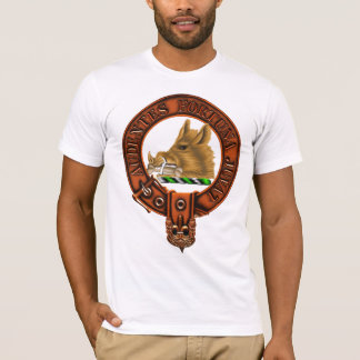 Clan MacKinnon Family Crest and Targe T-Shirt