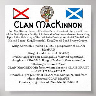 Clan MacKinnon & Siol Alpin- The 7 Clans Print