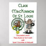 Clan MacKinnon St. Louis Poster