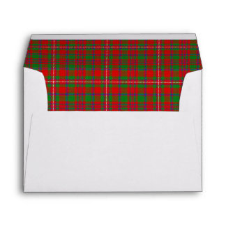Clan MacKinnon Tartan Scottish Dreams Envelopes