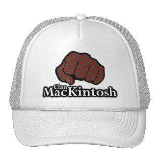 Clan MacKintosh Scotland Proud Tartan Fist Trucker Hat