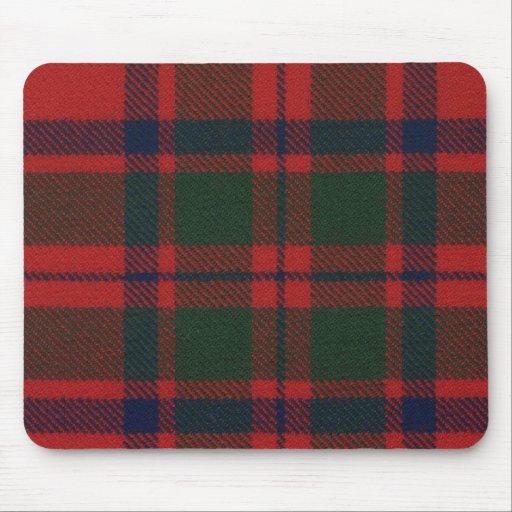 Clan Mackintosh Tartan Mouse Pad