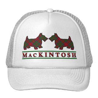 Clan MacKintosh Tartan Scottie Dogs Trucker Hat