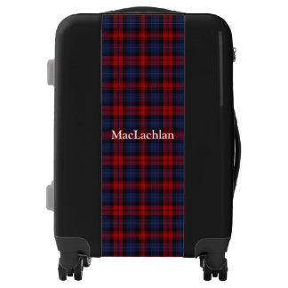 Clan MacLachlan Tartan Customize Your Name Luggage