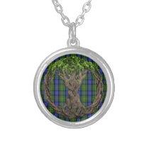 Clan MacLaren Tartan And Celtic Tree Of Life