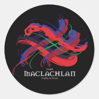 Clan MacLaughlin Tartan Sticker