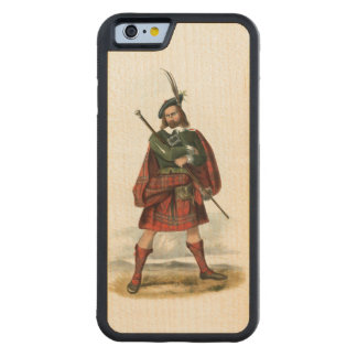 Clan MacLean Carved Maple iPhone 6 Bumper Case