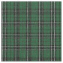 Clan MacLean Hunting Green Black Scottish Tartan 2 Fabric
