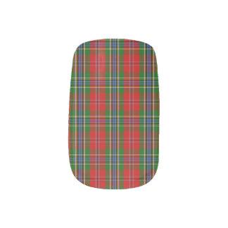 Clan MacLean Of Duart Tartan Minx® Nail Art