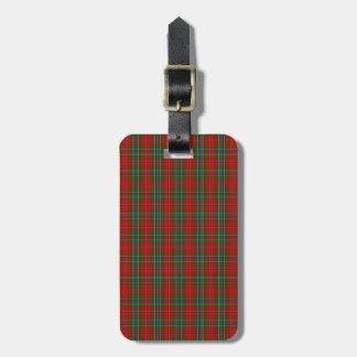 Clan MacLean Of Duart Tartan Tag For Bags