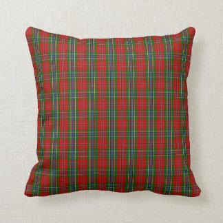 Clan MacLean Of Duart Tartan Throw Pillow