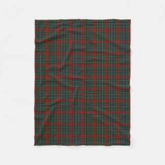 Clan MacLean Plaid Fleece Blanket