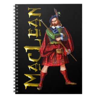 Clan MacLean Scottish Highland Dreams Notebook