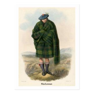Clan MacLennan Postcard