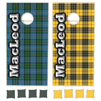 Clan MacLeod 2 in 1 Tartan Dynasty Cornhole Set