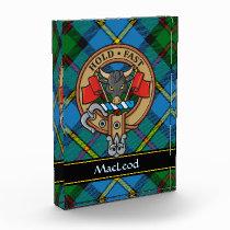 Clan MacLeod Crest Acrylic Award