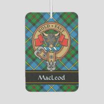 Clan MacLeod Crest Air Freshener