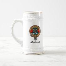 Clan MacLeod Crest Beer Stein