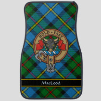 Clan MacLeod Crest Car Floor Mat