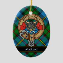 Clan MacLeod Crest Ceramic Ornament