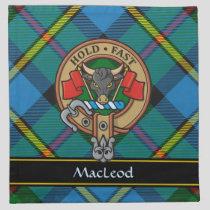 Clan MacLeod Crest Cloth Napkin