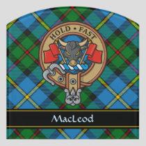 Clan MacLeod Crest Door Sign