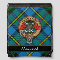 Clan MacLeod Crest Drawstring Bag