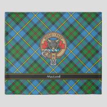 Clan MacLeod Crest Duvet Cover
