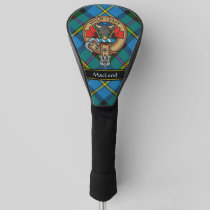 Clan MacLeod Crest Golf Head Cover