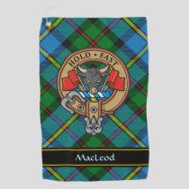 Clan MacLeod Crest Golf Towel