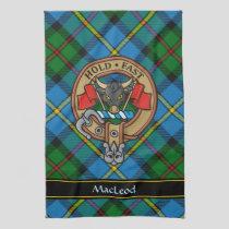Clan MacLeod Crest Kitchen Towel