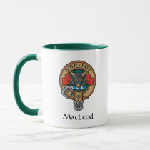 Clan MacLeod Crest Mug